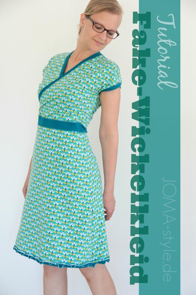 Basic wickelkleid von kibadoo – Beliebte Kleidermodelle 2018