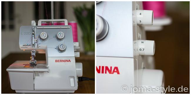 Bernina L220 - JOMA-style